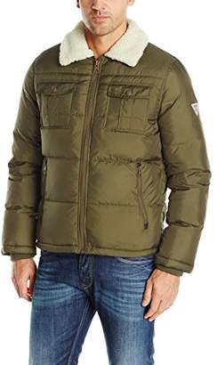 GUESS Men's Michael Puffer Jacket