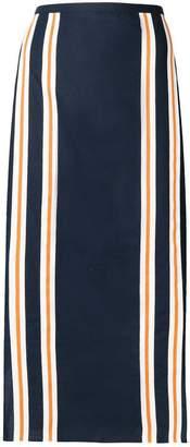 Kenzo (ケンゾー) - Kenzo ストライプトリム スカート