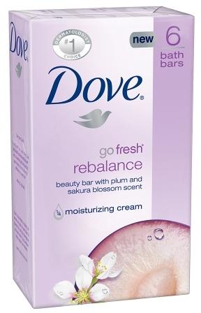 Dove go fresh Beauty Bar Rebalance,4 oz