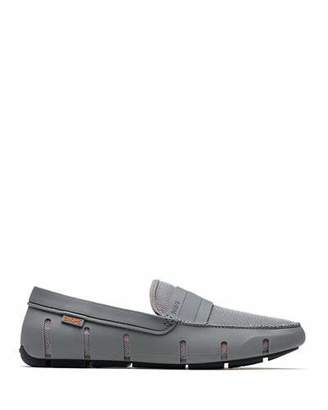 Swims Stride Bands Slip-On Loafer, Gray