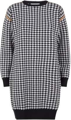 Max Mara Houndstooth Print Sweater