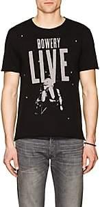 John Varvatos Men's Bowery Live Cotton T-shirt-Black