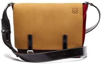 Loewe X Charles Rennie Mackintosh Milit Messenger Bag - Mens - Black Red