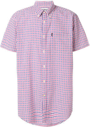Barbour short sleeved gingham check shirt