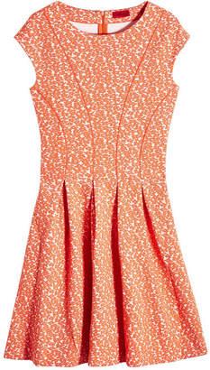 HUGO Dawinja Printed Dress with Cotton