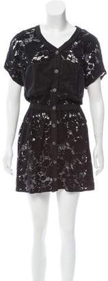Opening Ceremony Lace Mini Dress