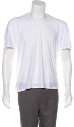 Saint Laurent Scoop Neck Short Sleeve T-Shirt