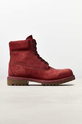 """Timberland 6"""" Premium Red Waterproof Boot"""