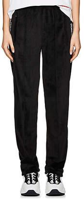 Opening Ceremony Women's Logo-Print Velour Track Pants - Black