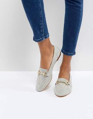 Office Fastlane Grey Loafers