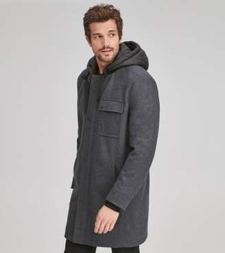 Andrew Marc ROWLAND WOOL PARKA