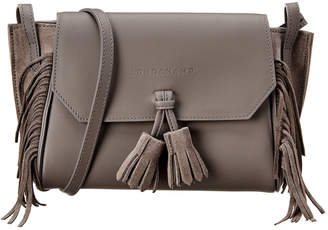 Longchamp Penelope Leather & Suede Shoulder Bag