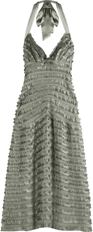Temperley London Juliana halter dress