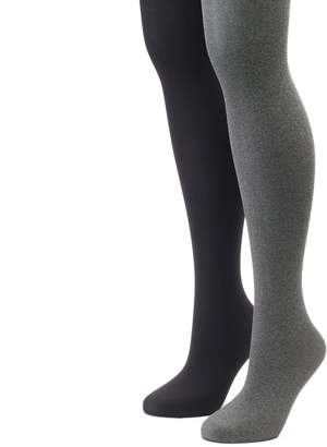 Apt. 9 Women's 2-pk. Solid Tights