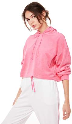 Juicy Couture Microterry Hooded Pullover