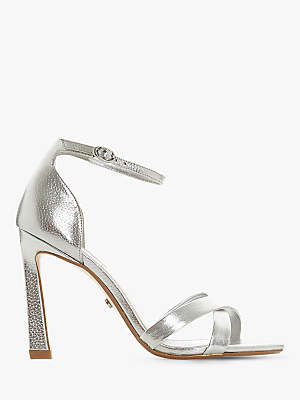 Dune Madalay Cross Strap Stiletto Heel Sandals