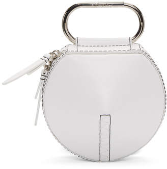 3.1 Phillip Lim White Alix Circle Clutch
