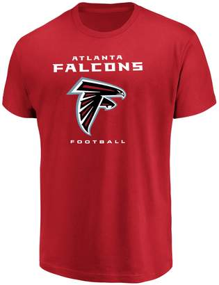 Majestic Big & Tall Atlanta Falcons Team Color Tee