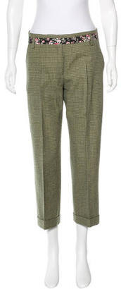 Paul Smith Virgin Wool Houndstooth Pants $85 thestylecure.com