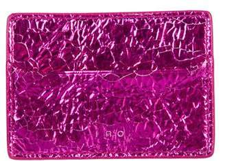 IRO Metallic Card Holder