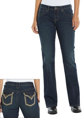 Apt. 9® Modern Fit Embellished Bootcut Jeans - Women's $54 thestylecure.com