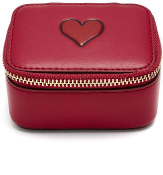 Anya Hindmarch Keepsake Heart leather box
