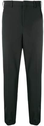 Neil Barrett high waisted tapered trousers