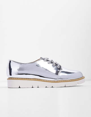 Express Metallic Lace-Up Sneakers