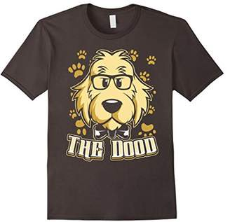 The Dood - Cool Funny Goldendoodle Shirt - Nerdy Glasses