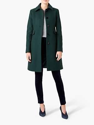 Hobbs Eris Coat, Forest Green