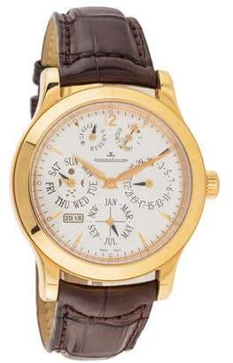 Jaeger-LeCoultre Master Control Perpetual Calendar Watch