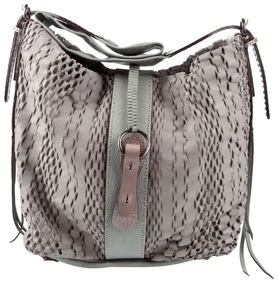 JAMIN PUECH - Laser-cut slouchy leather bag