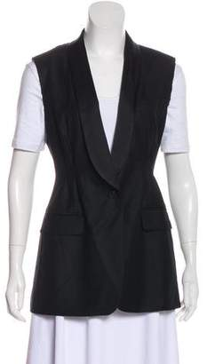 Dries Van Noten Wool Shawl-Collar Vest