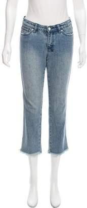 Ksubi Cropped Mid-Rise Jeans