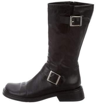 Donald J Pliner Square-Toe Mid-Calf Boots