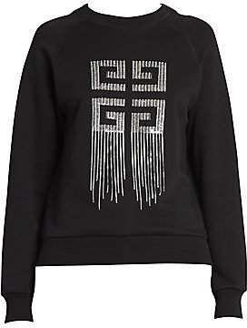 Givenchy Women's Embroidered Logo Sweatshirt