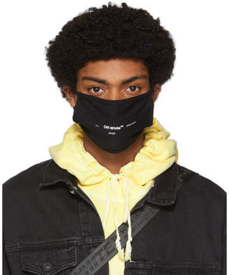 Off-White Off White Black Logo Mask