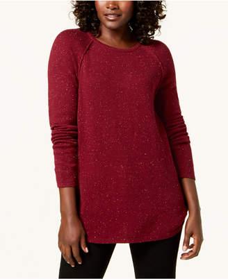 Karen Scott Crew-Neck Sweater