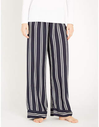 Tommy Hilfiger Relaxed-fit striped woven pyjama bottoms