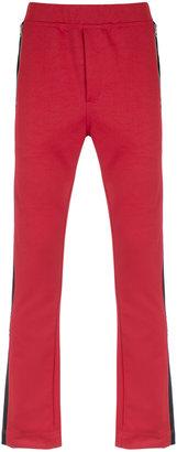 À La Garçonne panelled trousers
