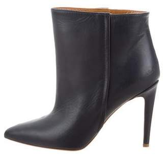Common Projects Woman by Pointed-Toe Leather Ankle Boots w/ Tags