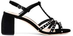 Loeffler Randall Elana Shaped Heel Strappy Sandal