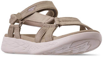 Skechers Women On The Go 600 - Brilliancy Athletic Sandals from Finish Line