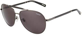 Chopard Metal Aviator Sunglasses