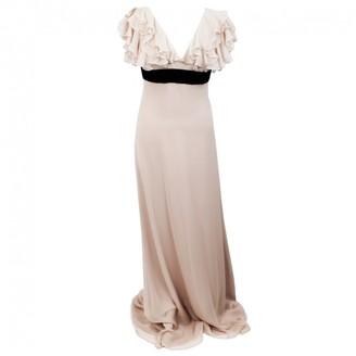 Marchesa Pink Silk Dresses