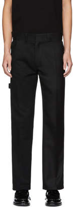 Gosha Rubchinskiy Black Bicolor Trousers