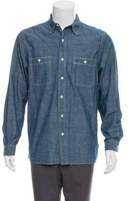 Co RRL & Chambray Button-Up Shirt