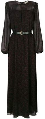 MICHAEL Michael Kors long-sleeved star print dress