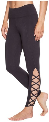 Hard Tail - X-Side Ankle Leggings Women's Casual Pants $80 thestylecure.com