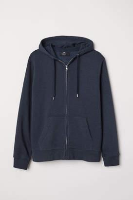 H&M Regular Fit Hooded Jacket - Blue